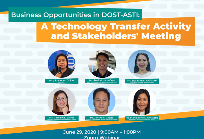 Business Opportunities Exploration for DOST-ASTI HIRANG technologies