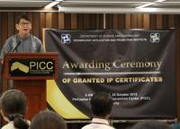 554 Granted IP Certificates handed to recipients by DOST-TAPI